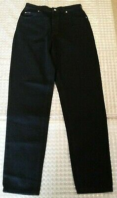 "Riders by the Makers of Lee Jet Blk Size 12 L Relaxed Misses Total Long 46"" Inse"