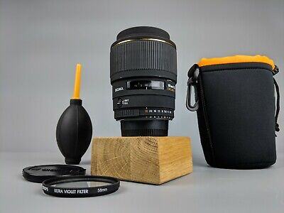 Sigma 105mm f/ 2.8 DG Macro EX Lens - FOR NIKON - JAPAN + Bag + Accessories!