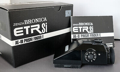 Bronica ETRSi AEIII Prism Finder-E with Metering