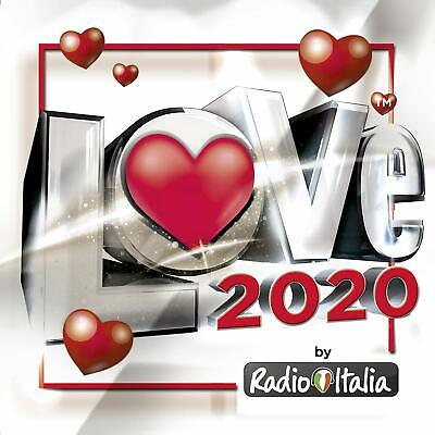 Radio Italia Love 2020  2 Cd    Pop-Rock Italiana