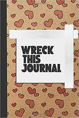 Wreck This Journal : Rip, write draw, create and make a mess ....PAPERBACK –2...