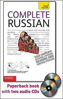 Complete Russian with Two Audio CDs: A Teach Yourself Guide [TY: Language Guides