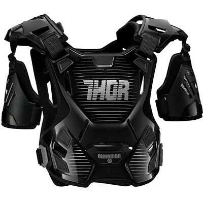 Thor Youth Guardian Body Protection - Black Silver