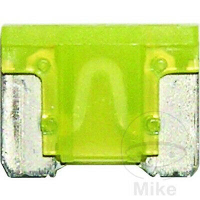 Mini-Low Profile Fuse 20A Yellow x2pcs 4001796509162