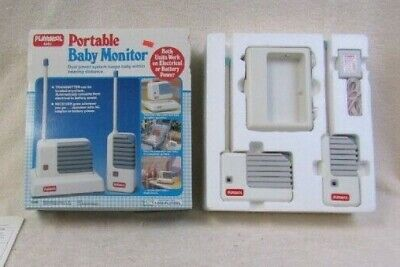 RARE Toy Story VINTAGE 1990 Playskool Portable Baby Monitor 5590 Receiver Disney