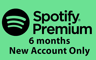 Spotify Premium 6 Months Code for use on a New UK Account Only