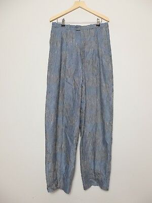 Hudson And Hudson Blue Vintage Trousers W30