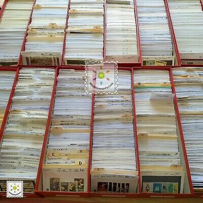 WORLDWIDE stamp collection MNH + 500 DIFFERENT from 75 countries + ALL FULL SETS