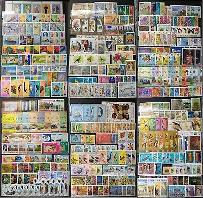 WORLDWIDE stamp collection MNH + ALL FULL SETS + ALL DIFFERENT COUNTRIES + GIFT
