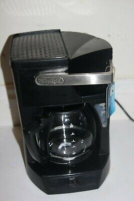 Delonghi Filter Coffee Machine - Black ICM30 - 12 Cup Capacity