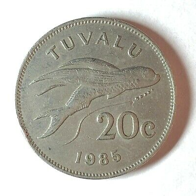 Tuvalu 20 Cents, 1985 - A05207