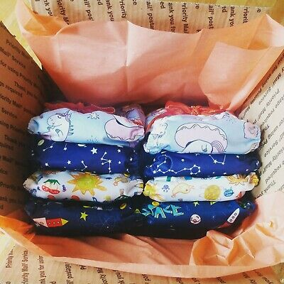 10 Modern Cloth Diaper Lot