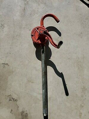 MS-25 Rotary Hand Pump for 55 Gallon Drum Oil Fuel Barrel Heavy Duty