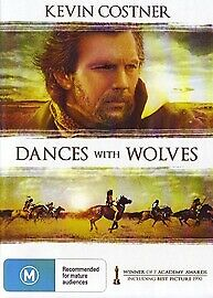 DANCES WITH WOLVES -  KEVIN COSTNER  Dvd  New And Sealed