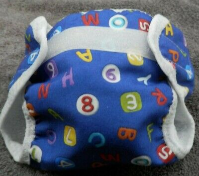 """#1 Doll's reusable waterproof washable nappy nappies 14-18"""" doll e.g baby born"""