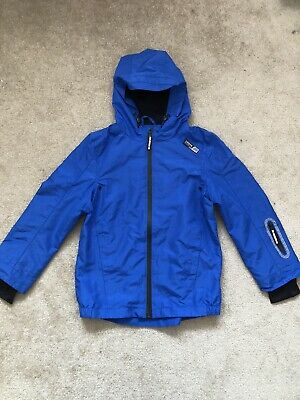 Royal blue URBAN COAT by F&F Aged 8-9yrs With Mesh Inset. City Street wear
