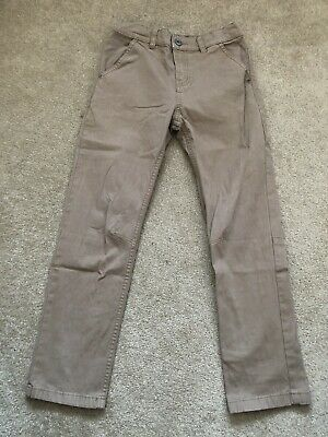 Boys BEIGE Jeans/trousers Aged 8-9yrs By F&F