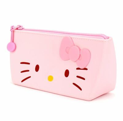 Hello Kitty Pencil Case Pen Stationery Bag Cute Pink School Kids Child Girls