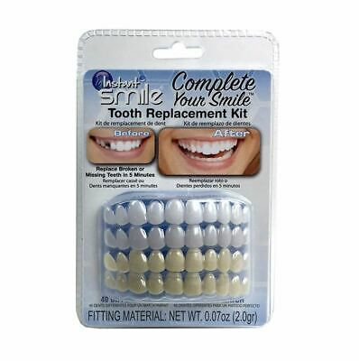 Complete Your Smile Temporary Tooth Replacement Kit fixes missing tooth in mins