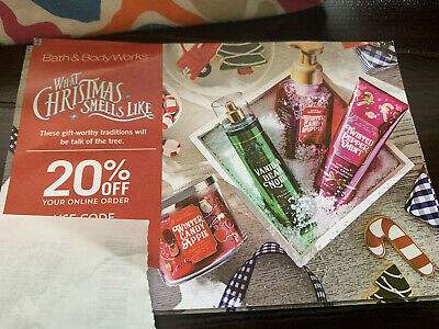 Bath & Body Works- 20% Off Your Online Order Ends March 23, 2020