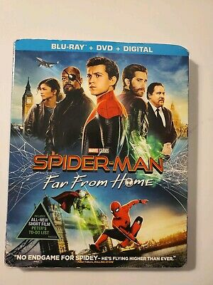 Spiderman far from home blu-ray dvd digital