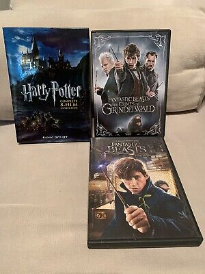 ** HARRY POTTER ** Complete 8 Film Collection DVD + Fantastic Beasts 1 & 2