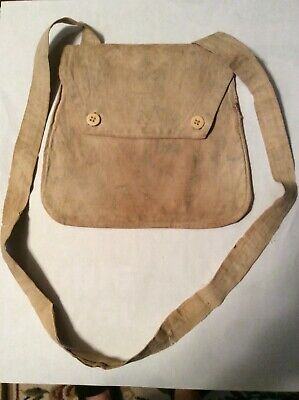 Massachusetts Civil War Cotton Haversack
