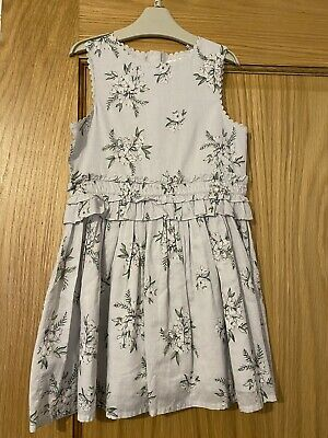 BNWT NEXT Flower Patterned Dress Girls Age 5 Years