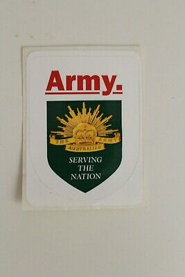 The Australian Army Serving the Nation Sticker