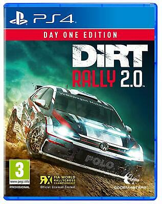 DIRT Rally 2.0 Day One Edition For PS4 (New & Sealed)