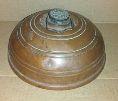 Antique/Vintage  Wafax Copper  Bed/Carriage Warmer