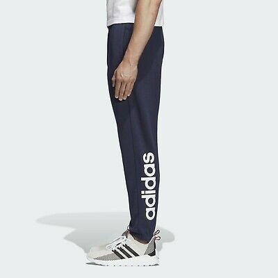 adidas Mens Joggers Grey Navy Sweat Pants Jog Jogging Tracksuit Bottoms Small,XS