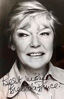 Brenda Bruce  UK Actress Original Signed Approx 5 x 4 photo