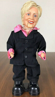 Hillary Clinton Boogie Diva Singing Dancing Doll Collectible Suit Pink Black