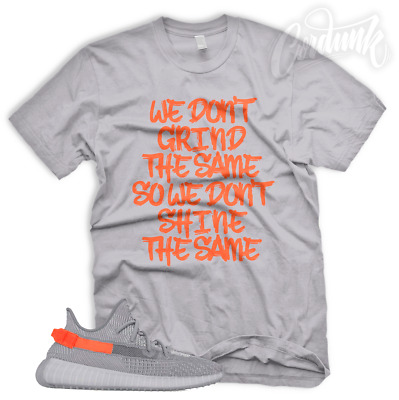 Gift Box Mens T-Shirt to Match The Yeezy Boost 350V2 Running Shoes Sneaker Tees with Original Box