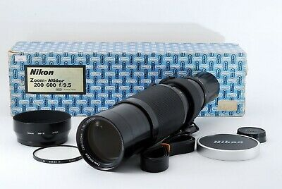 [Excellent-] Nikon Zoom-Nikkor 200-600mm F/9.5 Lens from Japan In Box 546189