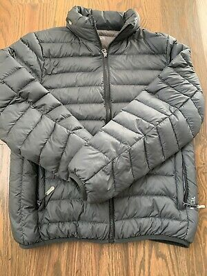 Beloved Mens Compressible Packaged Down Puffer Jacket with Hooded Long Coat