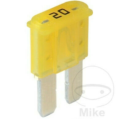 Herth & Buss Micro 2 Fuse 20A Yellow 50295649