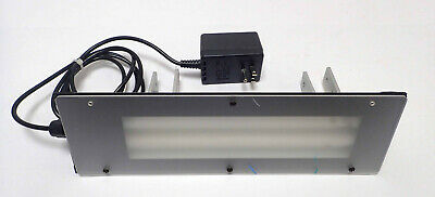 STOCKERYALE LIGHT FIXTURE HOLDS 2 LIGHTS w/ MOUNTING BRACKETS TESTED & WORKING!