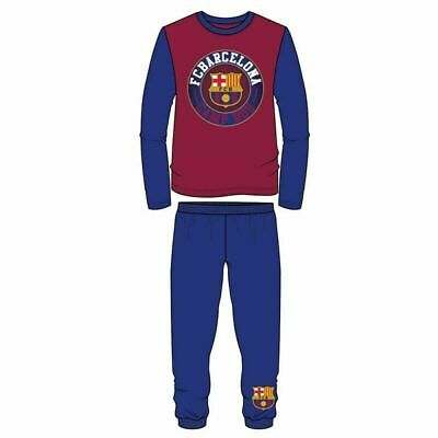 Boys Girls Kids Children PJ's FC Barcelona Pyjamas 100% Cotton