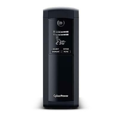 CyberPower Value Pro 1600VA UPS Surge Protect Uninterruptible Power Supply