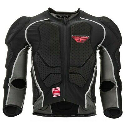 Fly Barricade Long Sleeve Suit CE (Black) Youth