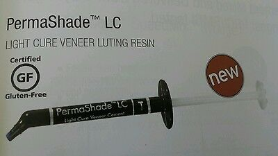 Permashade LC A2 Luce Cure Veneer Dentale Cemento Cementazione Resina Ultradent
