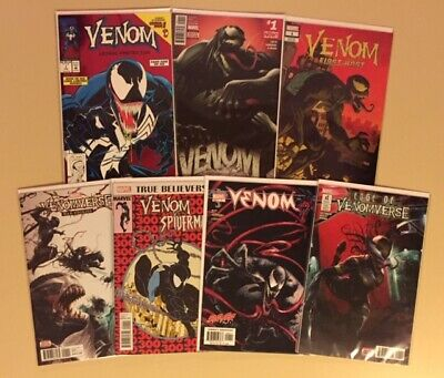 (7) Venom # 1 Lethal Protector First Host Edge of Venomverse War Stories NM+