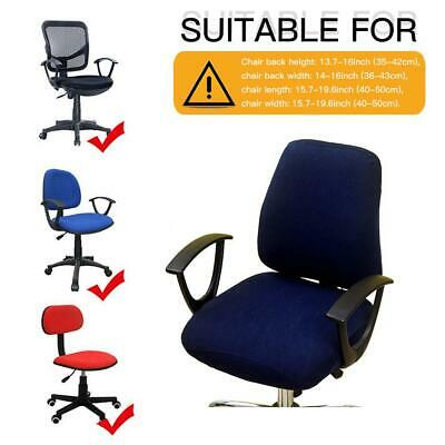 Office Swivel Rotating Chair Cover Seat Arm Gaming Computer Chairs Covers Decor