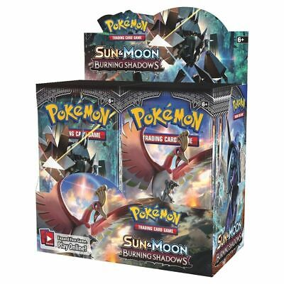 Pokemon TCG Sun & Moon Burning Shadows Booster Box - BULK RATE OPENED BOX