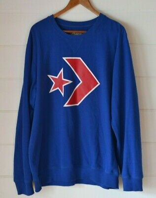 Vintage Retro Men's Converse blue jumper