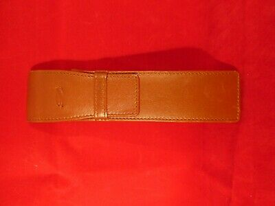 S.T. Dupont Fine Leather Pen Pouch for two pens