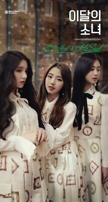 Monthly Girl-[LOONA&Haseul]Single Reissue Album CD+Booklet+PhotoCard Kpop Sealed
