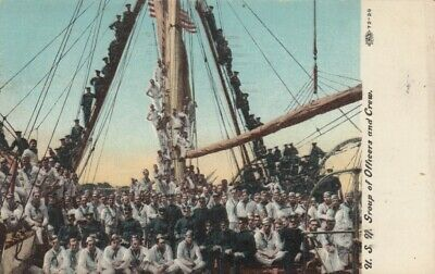 U.S.NAVY Group of Officers and Crew, PU-1908